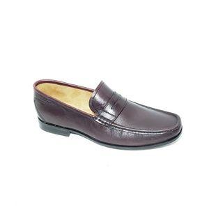 Florshiem Penny Loafers Men 10.5 D Brown Leather